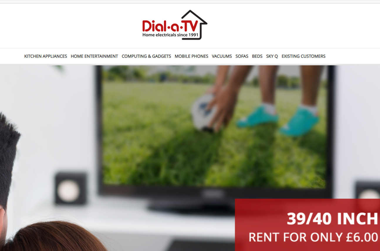 dialatv catalogue for electrical items with bad credit