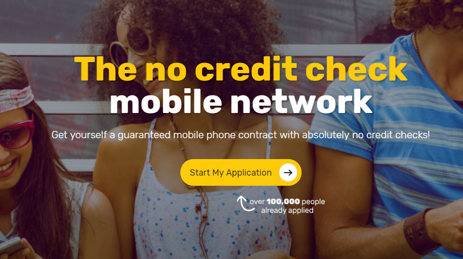 mobile phone no credit check bad credit