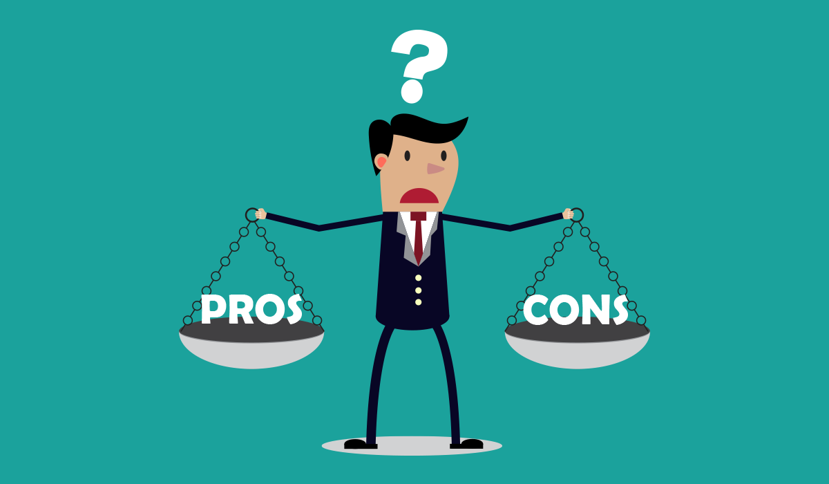 pros and cons of catalogues for bad credit