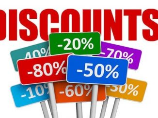 discounts for shopping