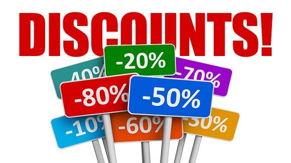 discounts for shopping with catalogues stores